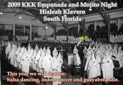 The Latino Branch of the KKK in South Florida