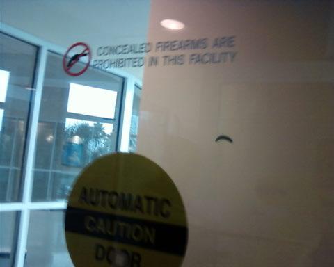 Medical Gun Free Zone