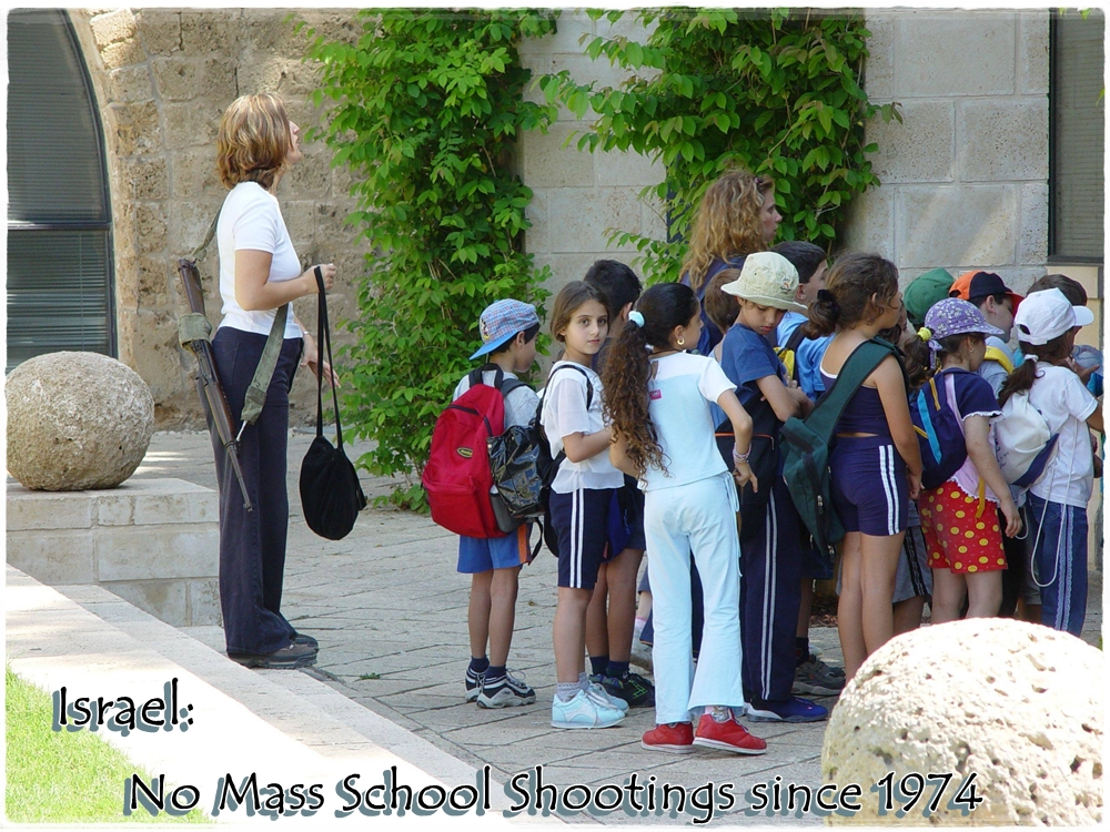 israel teacher rifle