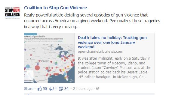 chicago gun deaths first