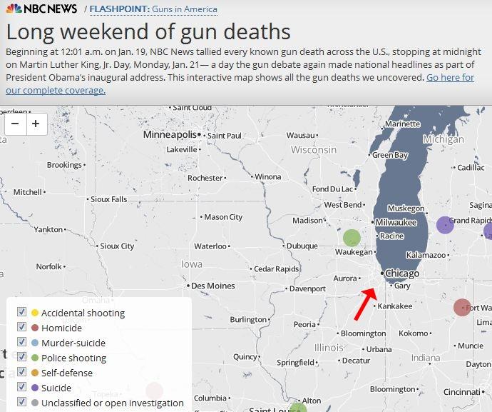 chicago gun deaths