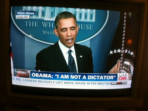 not a dictator