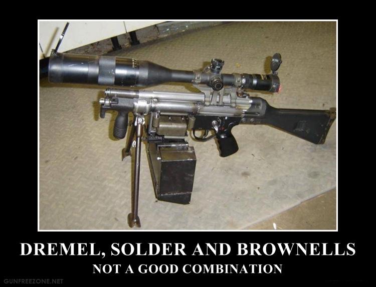 DREMEL SOLDER BROWNELLS