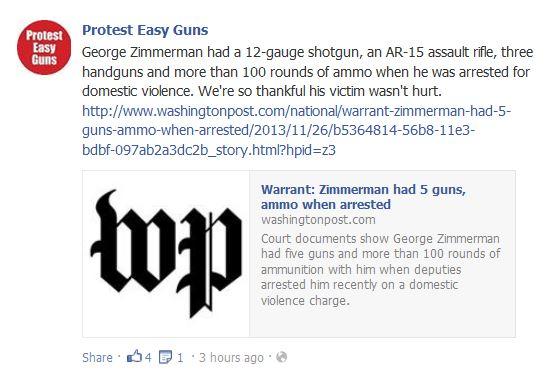 zimmerman arrest ammo guns2