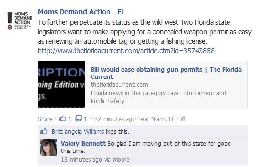 Moms Demand FL License