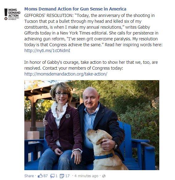 MOms Demand Gabby Giffords