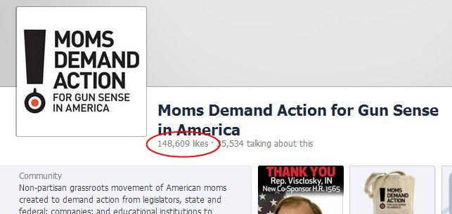 Facebook NRA Moms Maig 2