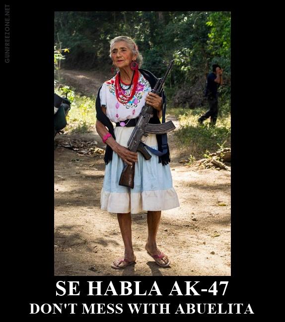 SE HABLA AK-47