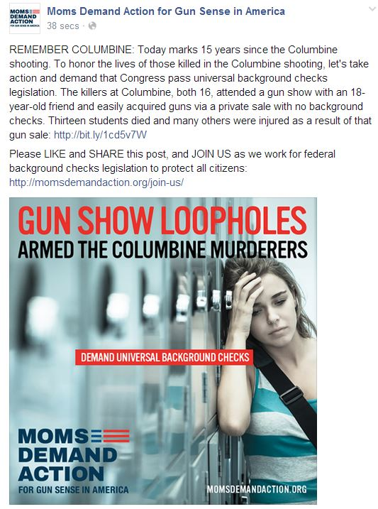 Moms Demand Columbine