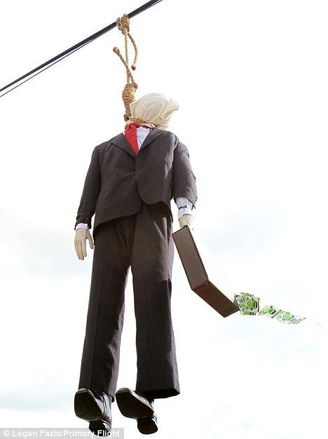 hung effigy