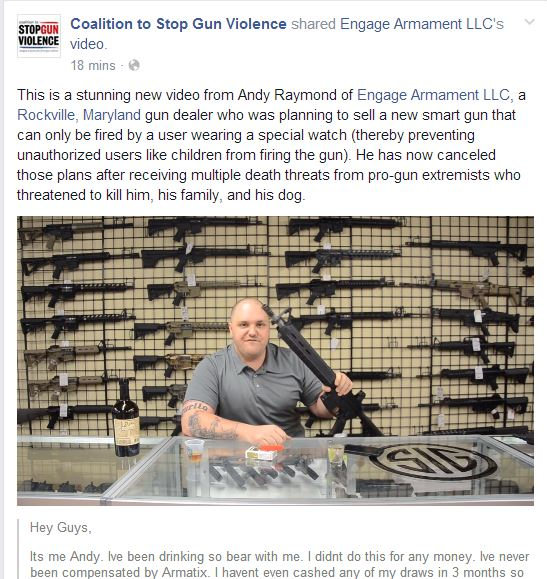 Andy Raymond of Engage Armament LLC