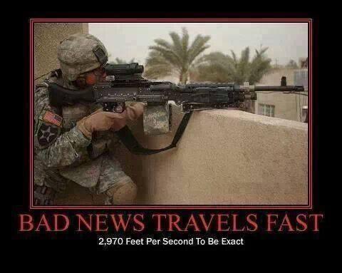bad news travel fast