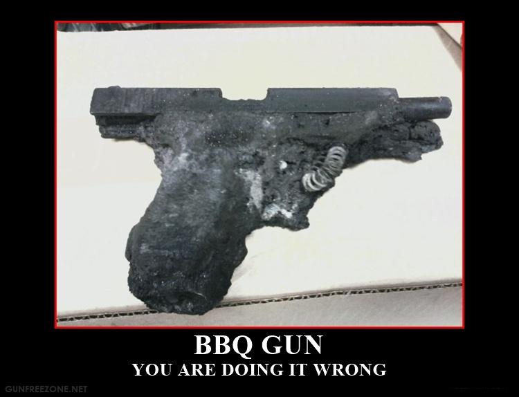 BBQ gun