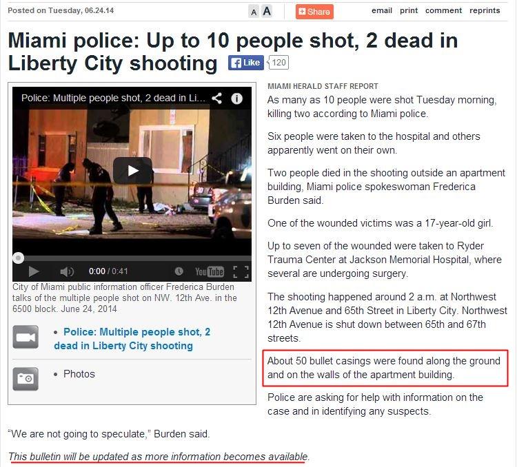 Liberty City Shooting