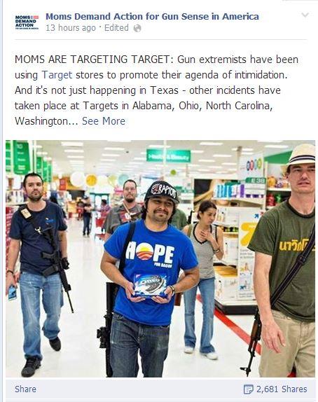 Moms Demand OCT Target