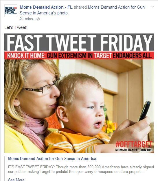 Moms Demand Target