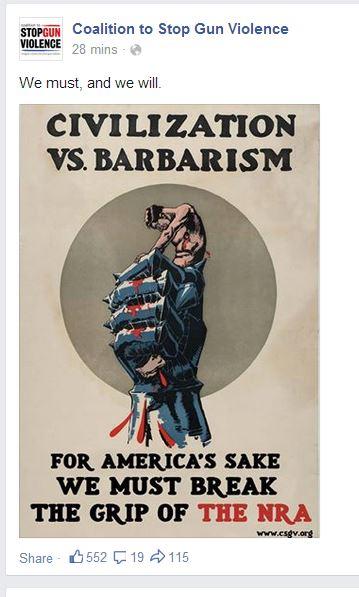 CSGV barbarism