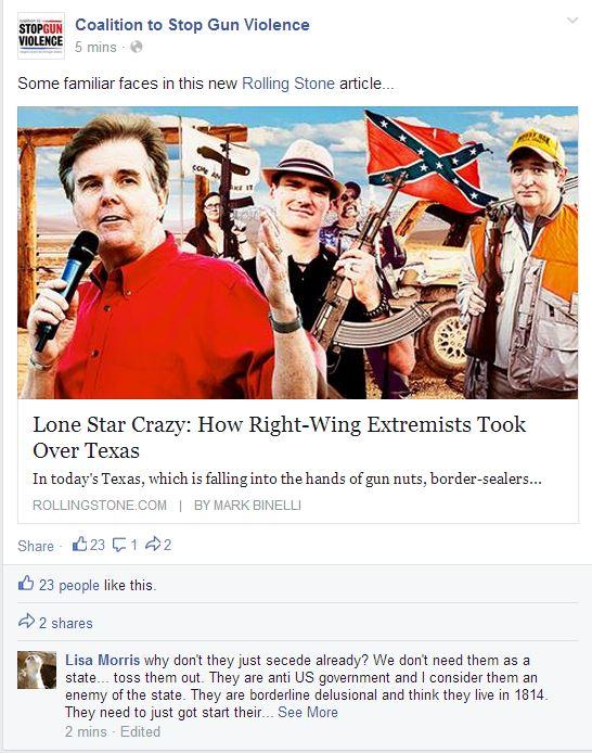 CSGV texas insurrection