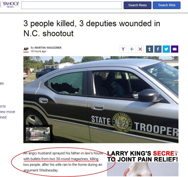 NC shooting Magazines