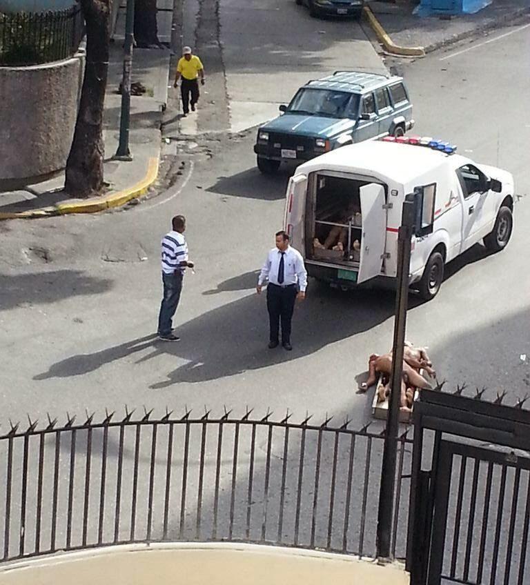bodies off truck