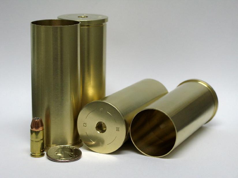4 bore case v 9mm