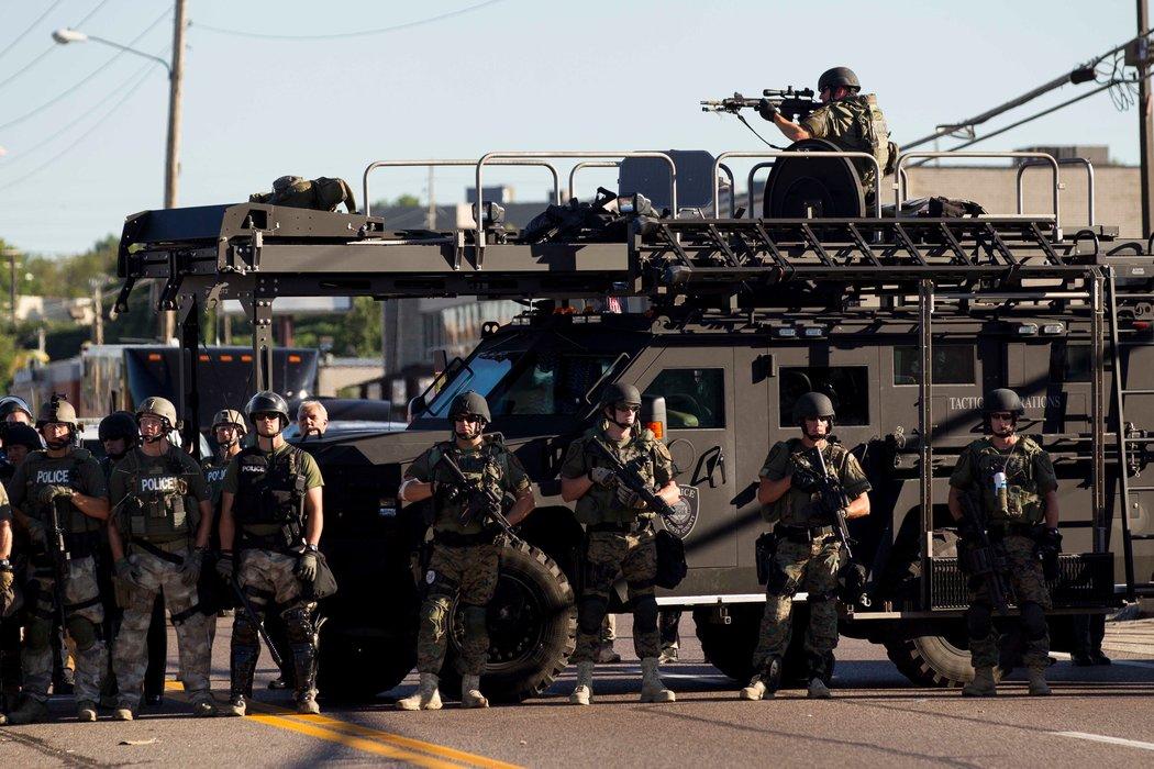 Ferguson PD Sniper