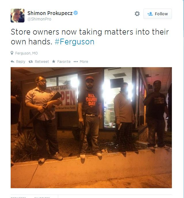 Ferguson Second Night Store Owner