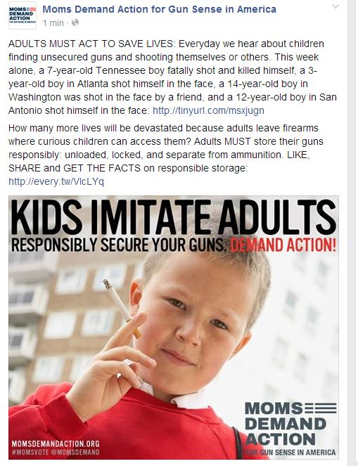 Moms Demand Kid Cigarrette