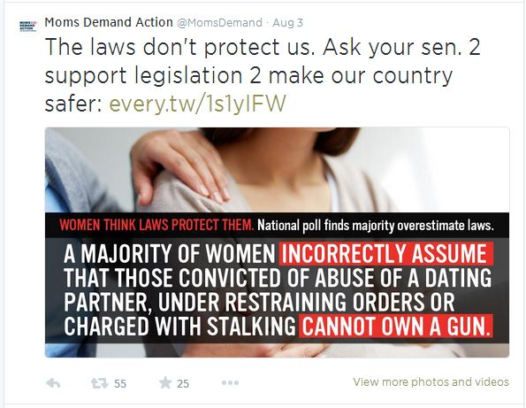 Moms Demand Laws dont protect