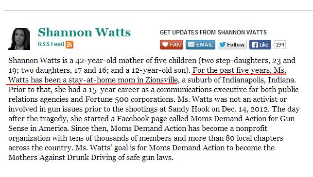 Moms Demand Shannon Watts Stay at Home Mom 2