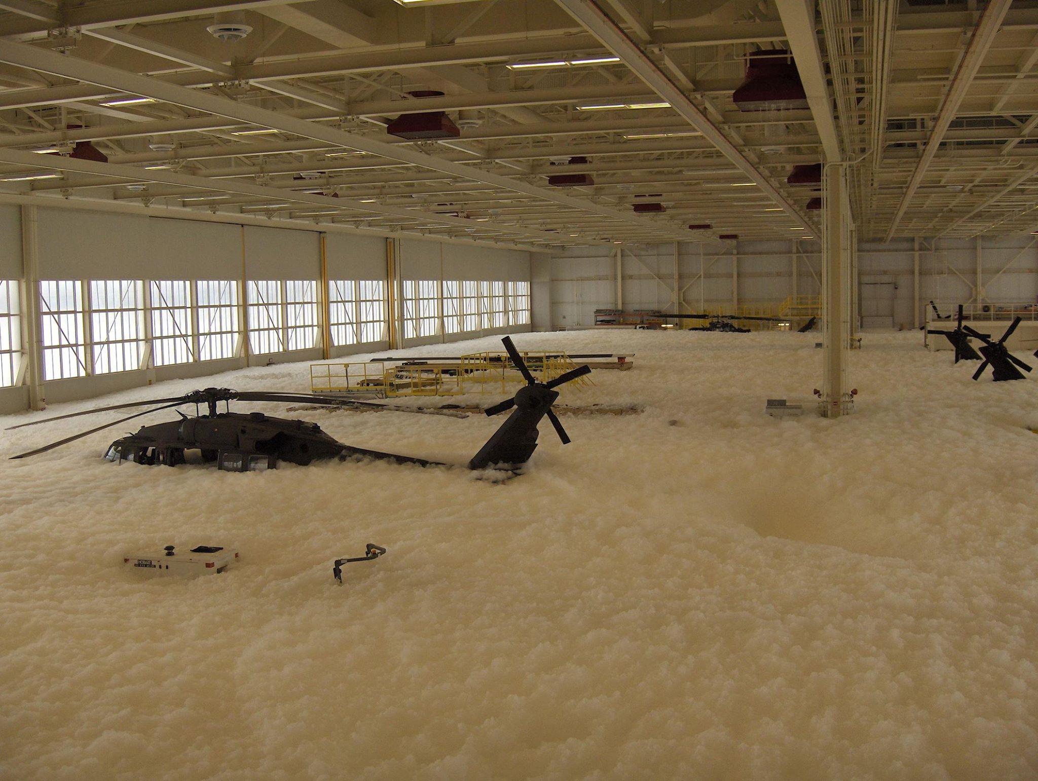 blackhawks foam