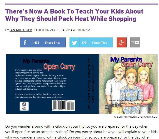 brady open carry book 1