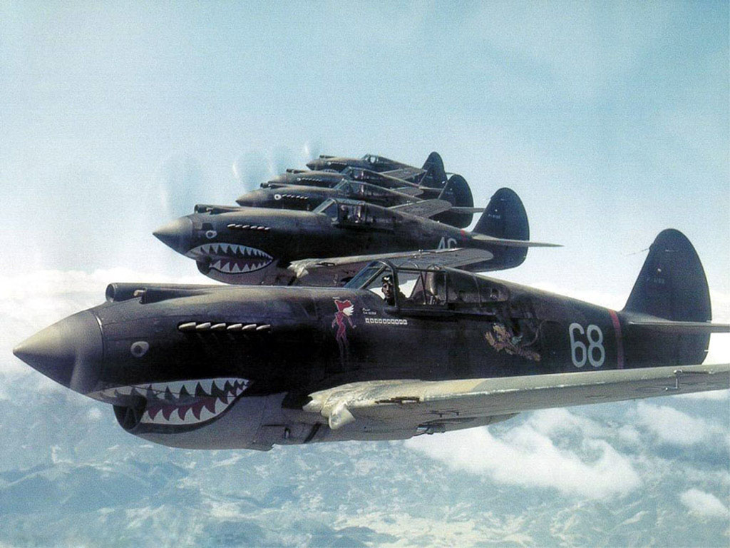 American Volunteer Group over China 192 AKA The Flying Tigers