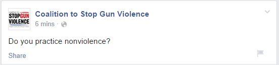 CSGV Nonviolence