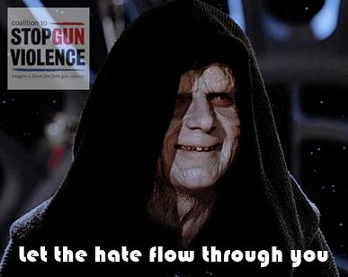 CSGV let the hate flow through you
