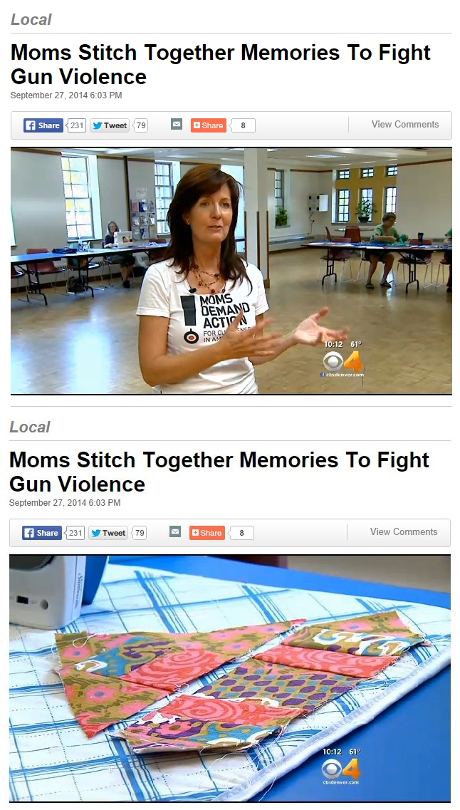Moms Demand Quilting