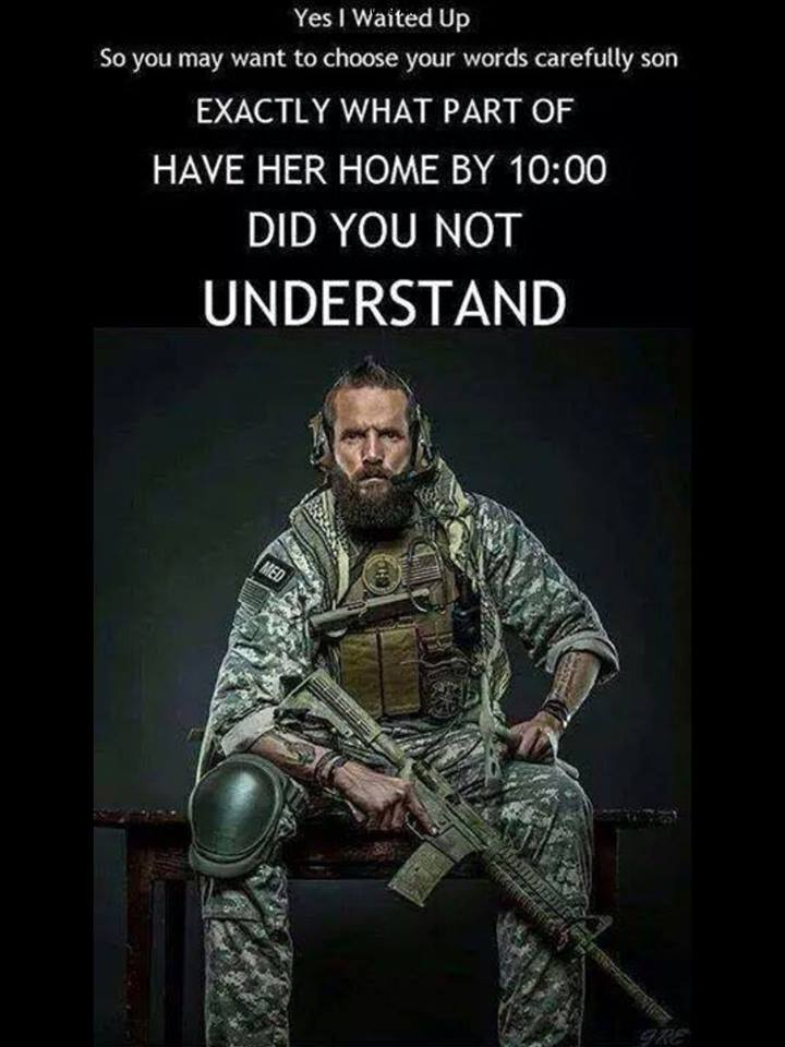have her home by 10