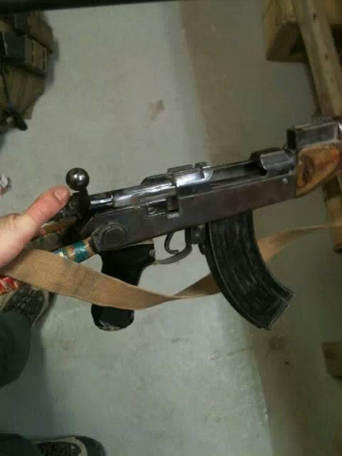 Bolt Action AK