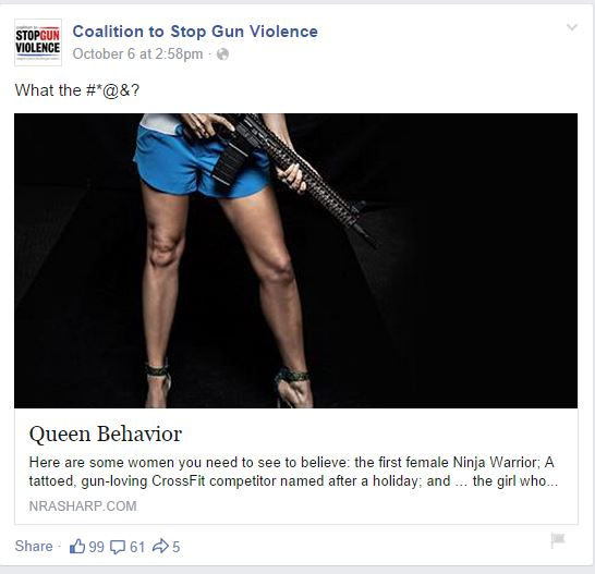 CSGV NRA women queen