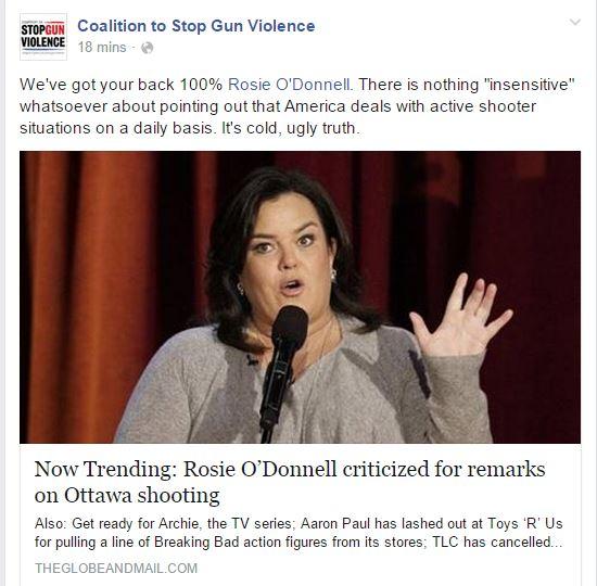 CSGV Rosie odonell