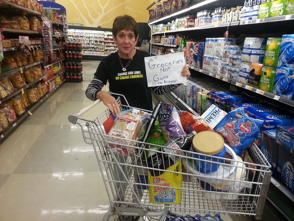 Mom Demands Kroger beer aisle