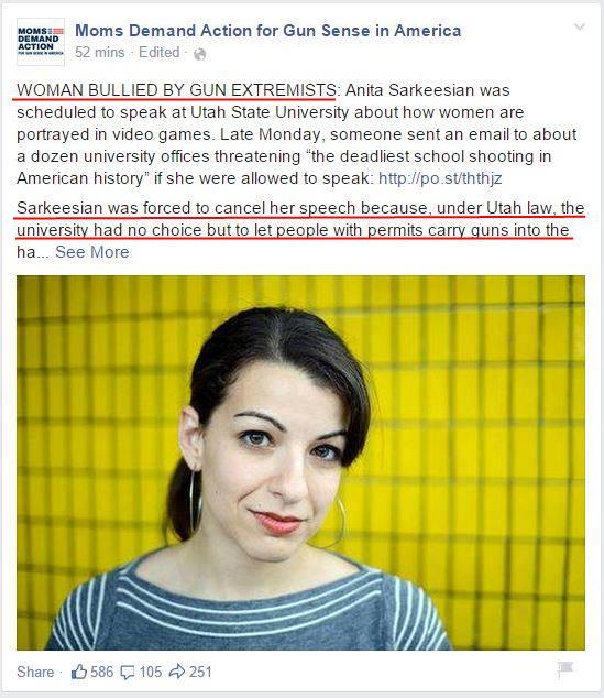 Moms Demand Anita Sarkeesian