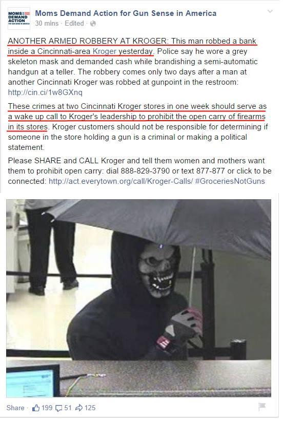 Moms Demand Kroger Robbery 1