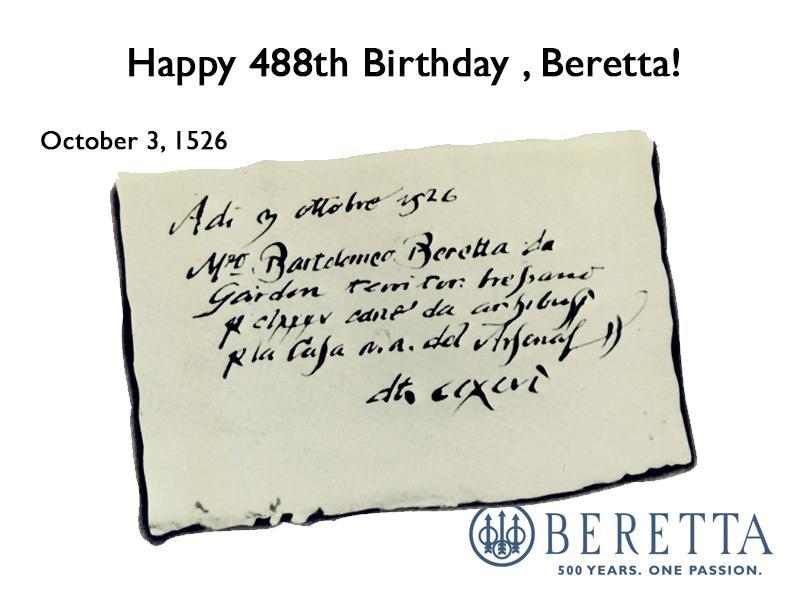 beretta b day