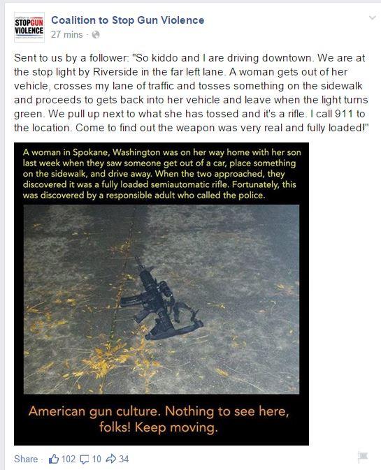CSGV Rifle found spokane