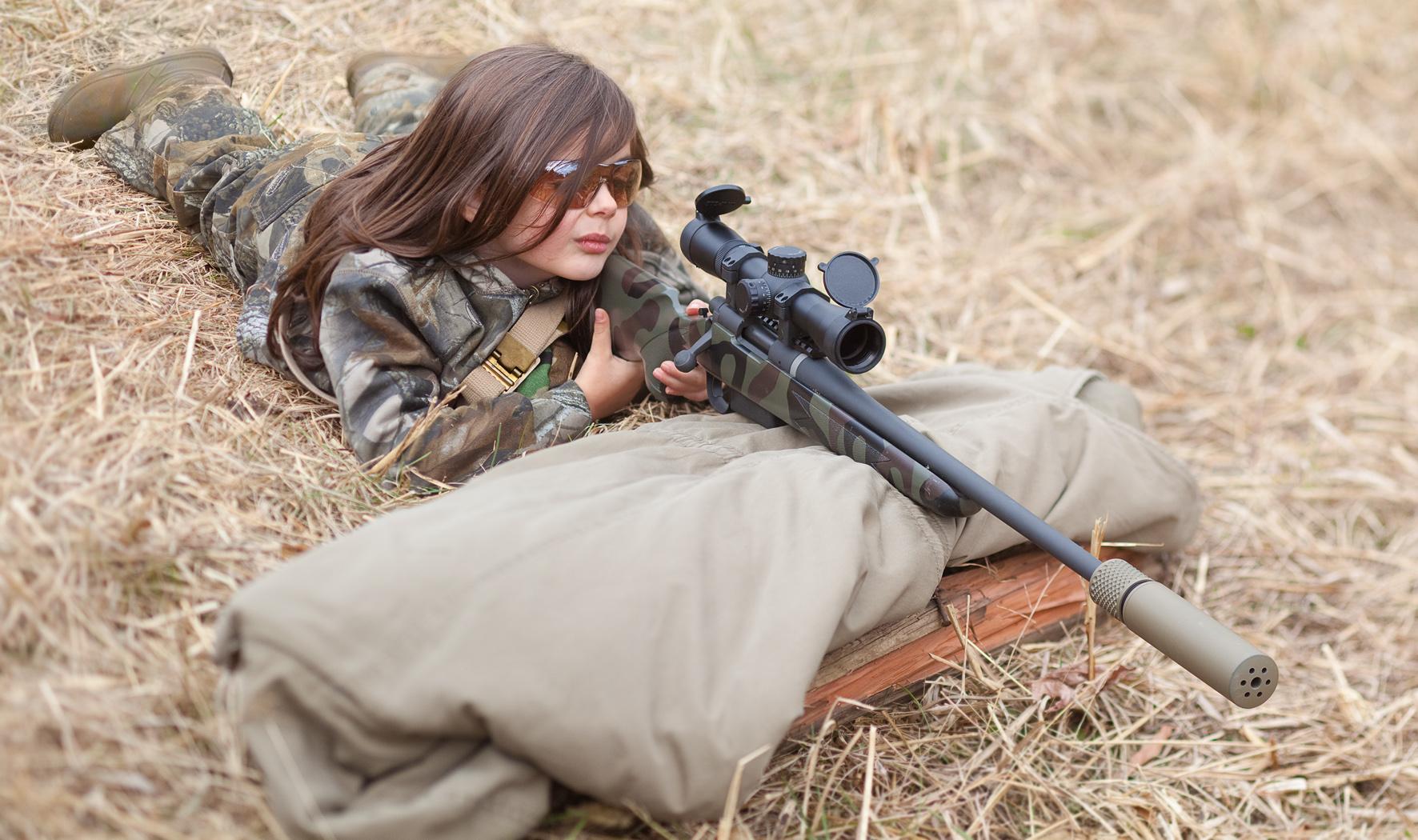 sniper girl silencer
