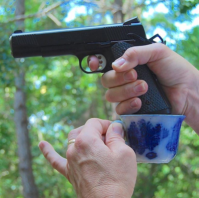 tea cup grip