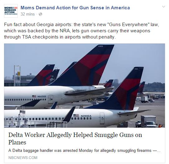 Moms Demand Georgia Airports