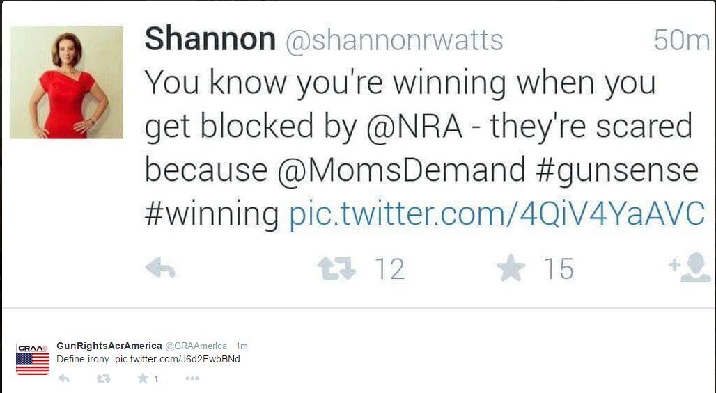 Moms Demand Irony