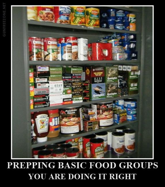PREPPING BASIC FOOD GROUPS